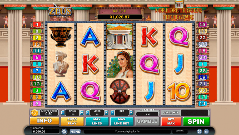 Game Slot Online Zeus